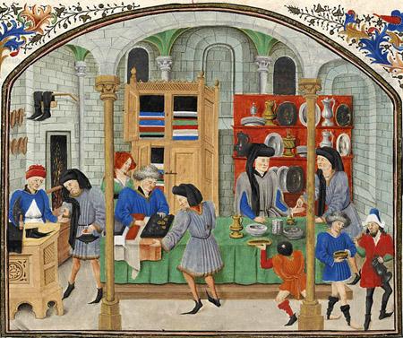 banque médiévale