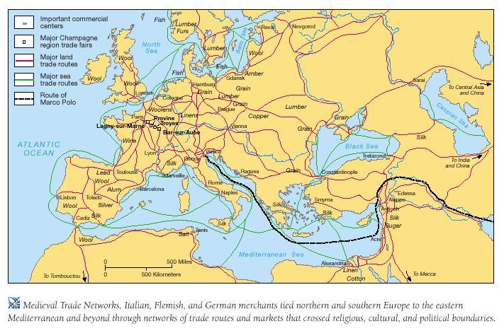 médiéval trade